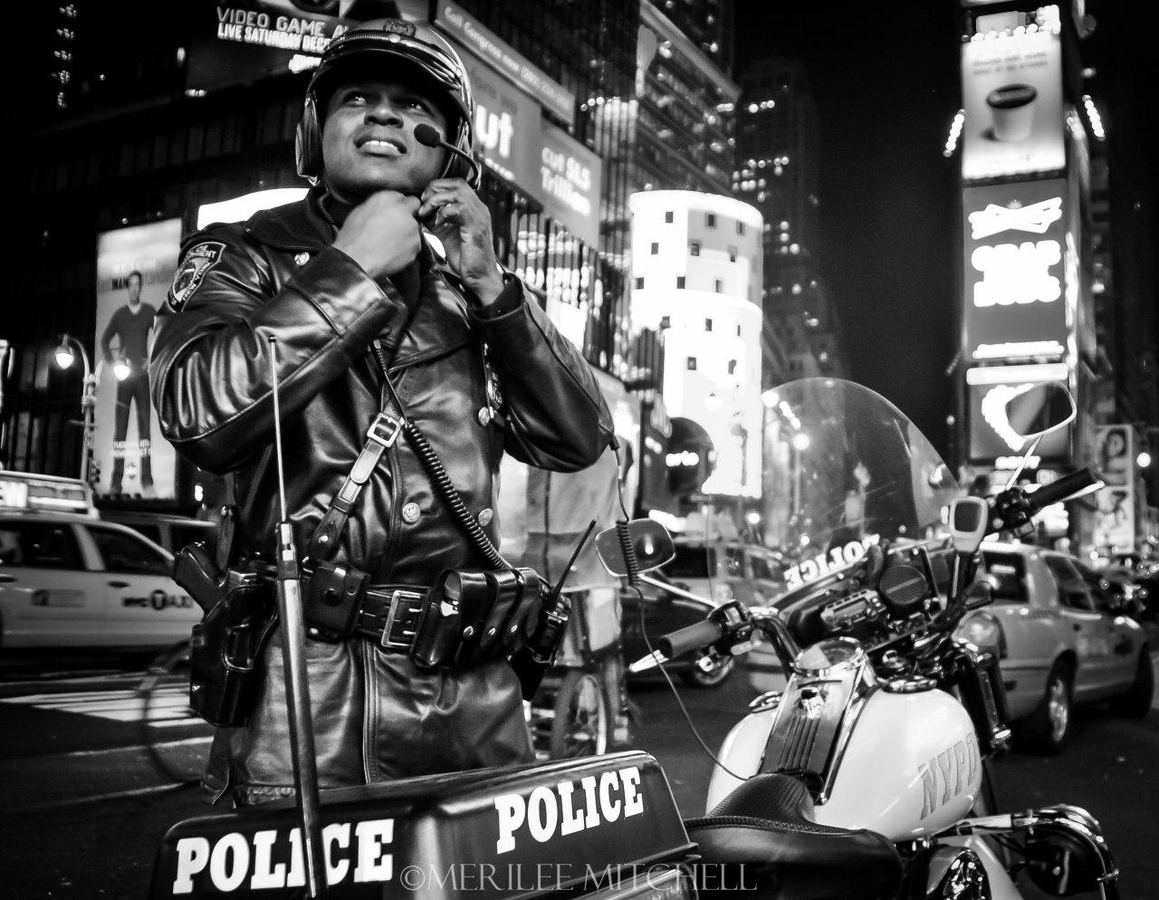 Police. Copyright Merilee Mitchell