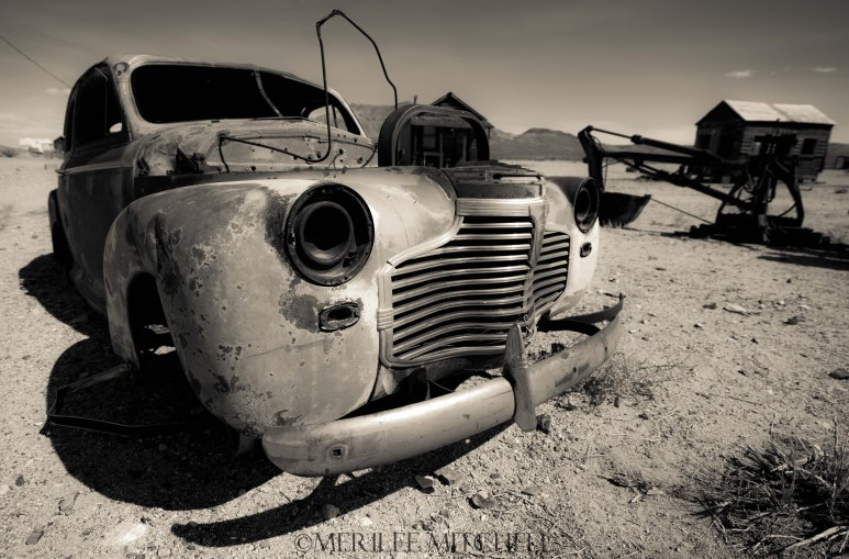 Ghost Car. Copyright Merilee Mitchell-2