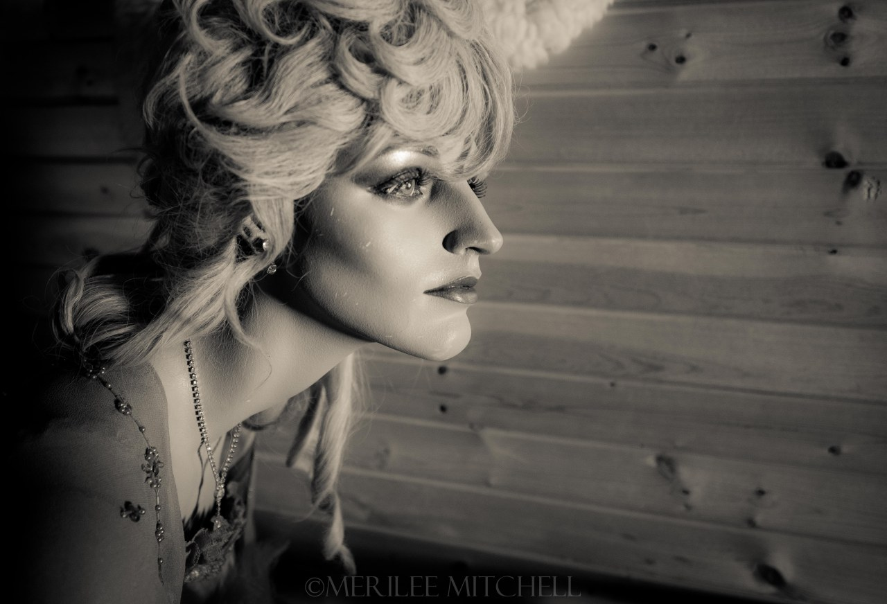 Saloon Girl. Copyright Merilee Mitchell-2