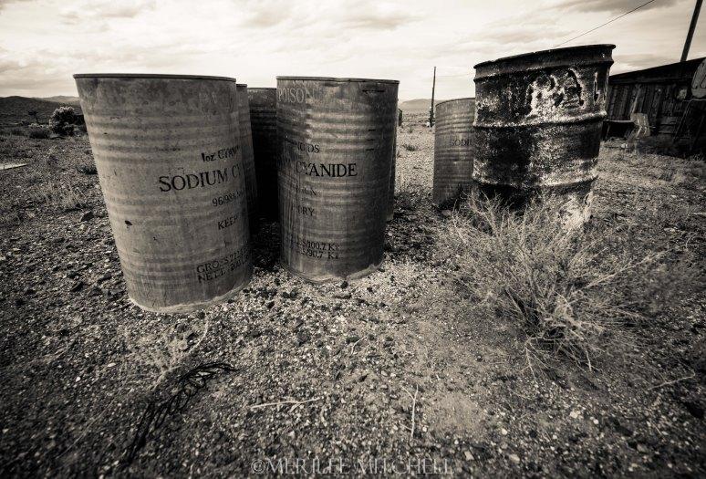 Sodium Cyanide. Copyright Merilee Mitchell