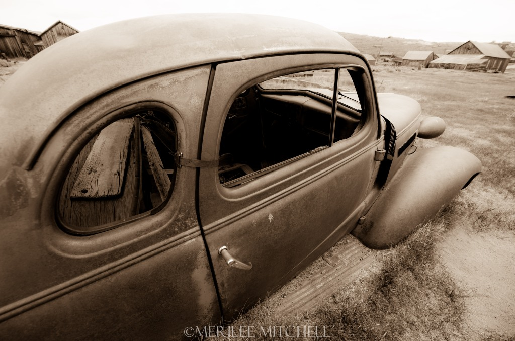Old Car. Copyright Merilee Mitchell