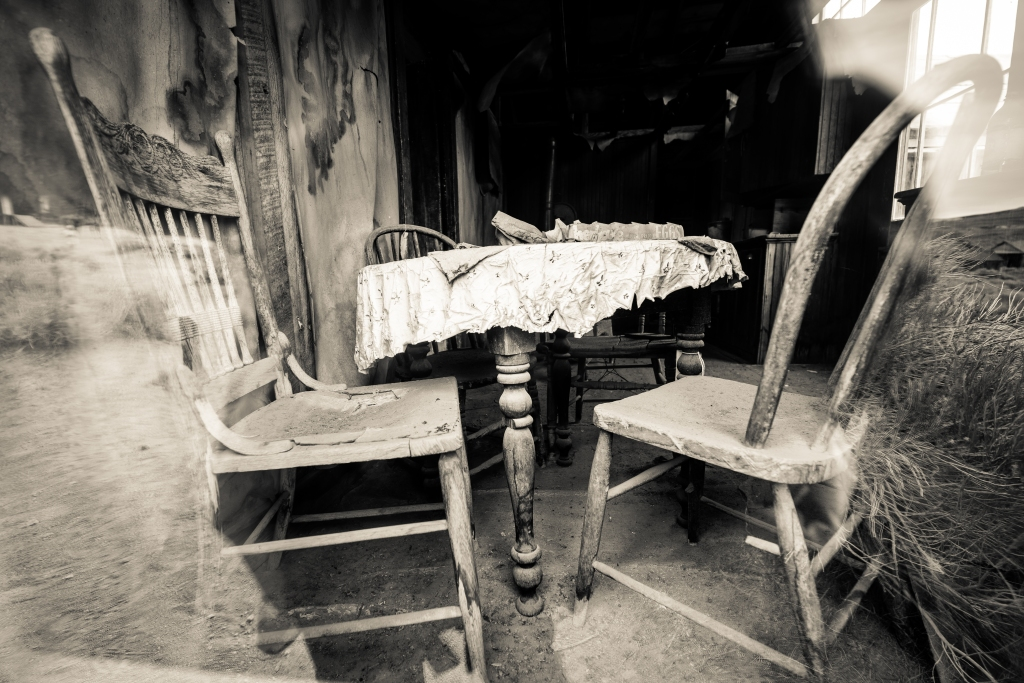 Table And Chairs. Copyright Merilee Mitchell-2
