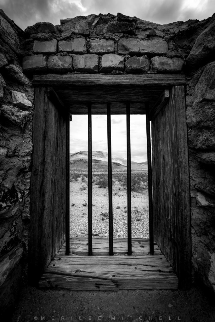 Jail. Copyright Merilee Mitchell