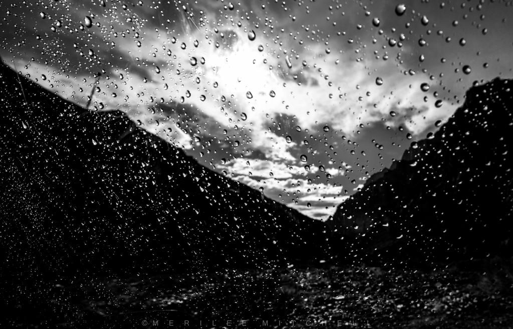 Rain Storm. Copyright Merilee Mitchell
