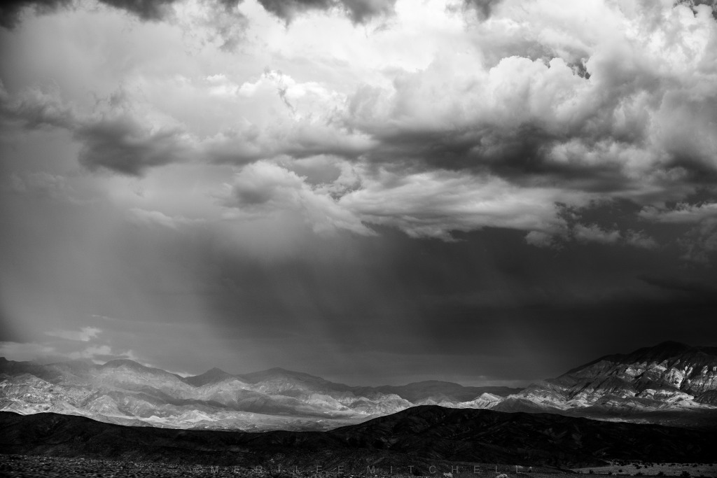 Rain Storm Over DV. Copyright Merilee Mitchell