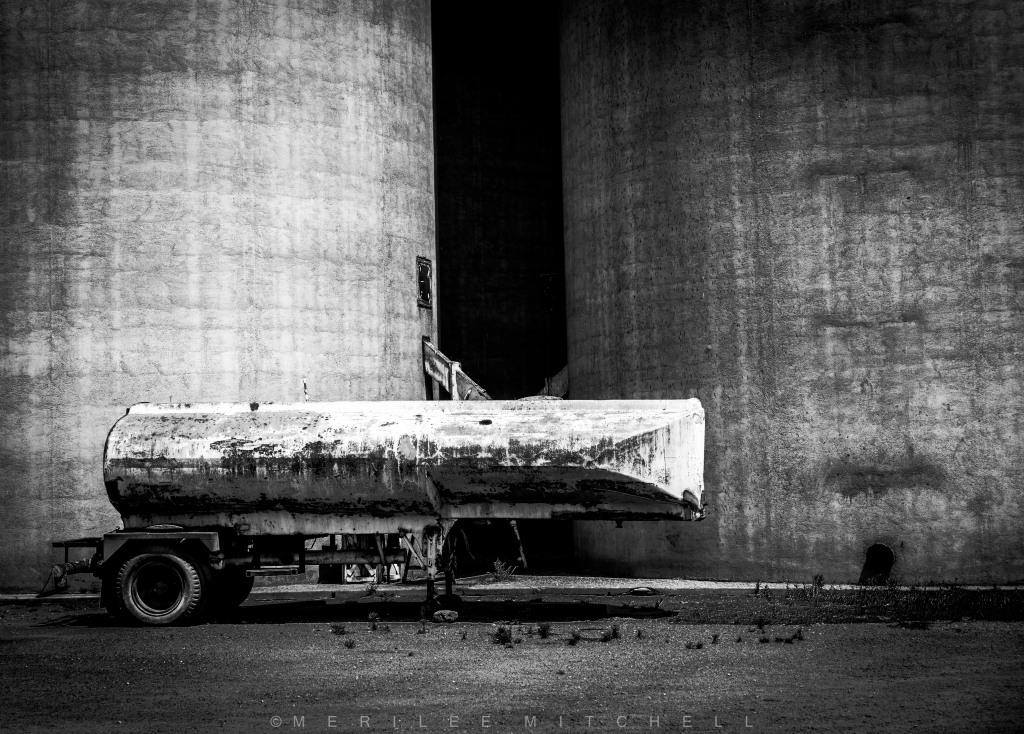 Tanker Trailer. Copyright Merilee Mitchell