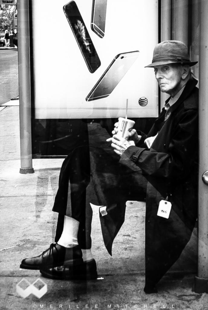 Bus Stop. Copyright Merilee Mitchell-2