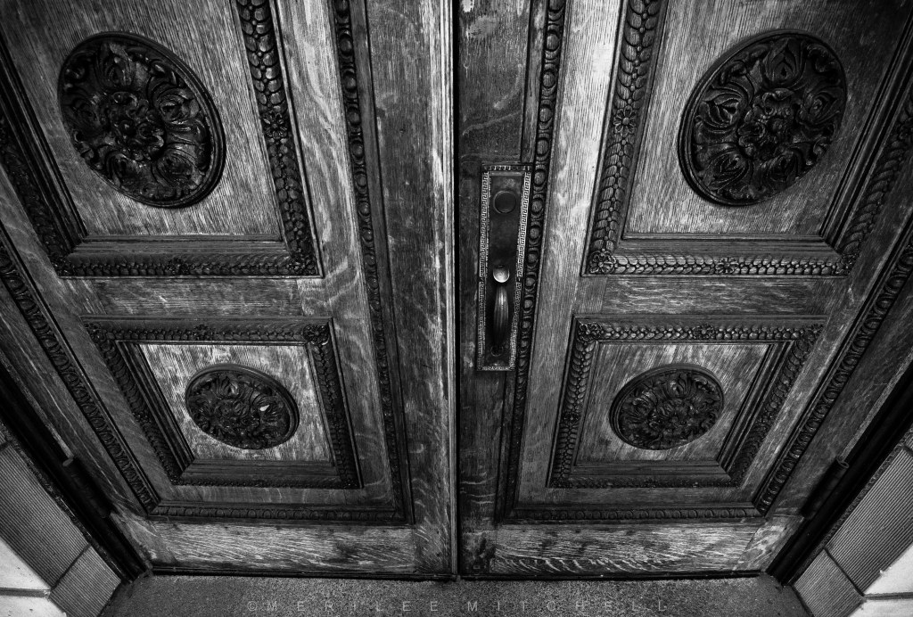 Doors.  Copyright Merilee Mitchell