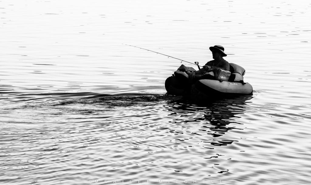 Drifting. Copyright Merilee Mitchell-3