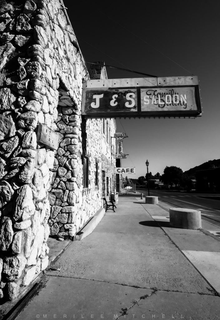J&S Saloon. Copyright Merilee Mitchell