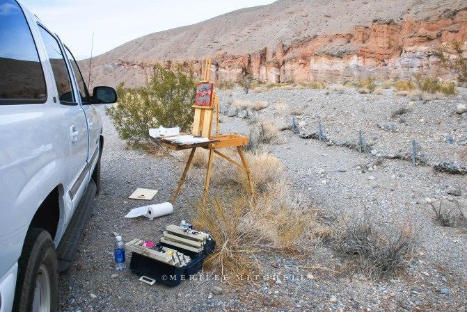 Emigrant Canyon. Copyright Merilee Mitchell 2009