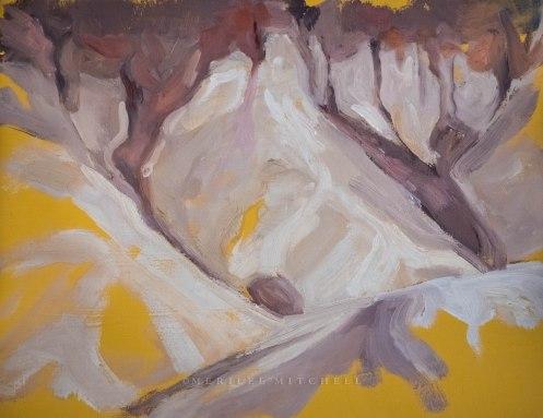 Yellow Buff. Copyright Merilee Mitchell